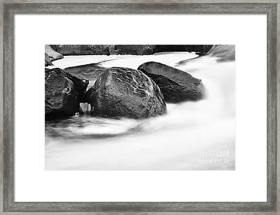 Rock Solid Framed Print