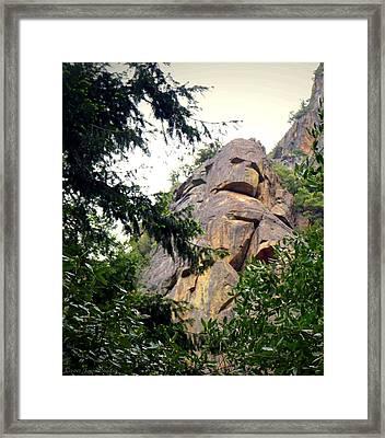 Rock Spirits At Yosemite Framed Print