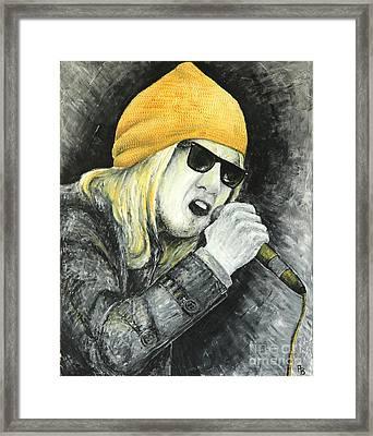 Rock Star Framed Print by Home Art