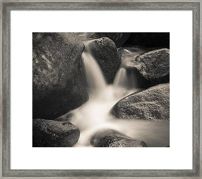 Framed Print featuring the photograph Rock Star by Tom Vaughan