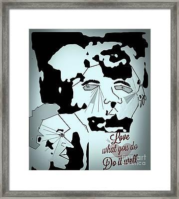 Rock Stars Framed Print