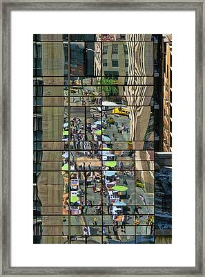 Rock Street Fair Framed Print
