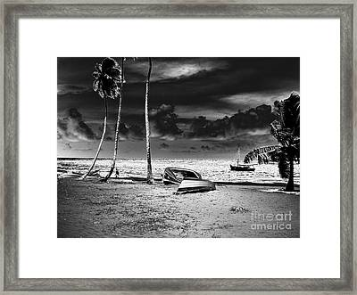 Rock The Boat Extreme Framed Print