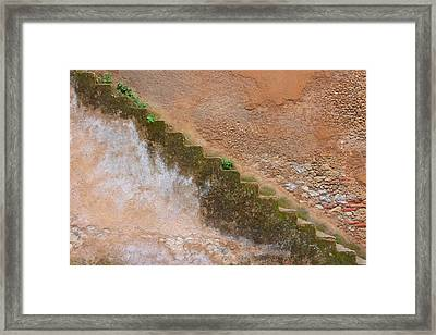 Framed Print featuring the photograph Rock The Kasbah by Ramona Johnston