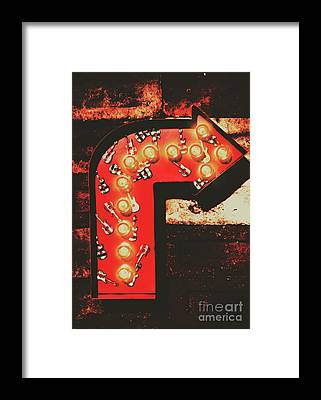 Show Business Framed Prints
