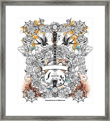 Rockabilly Guitar 2015 Series Framed Print