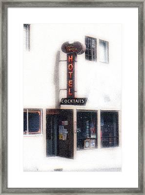 Rockabilly Heaven Framed Print by Everett Bowers