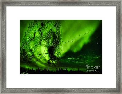 Rockaby Baby Framed Print