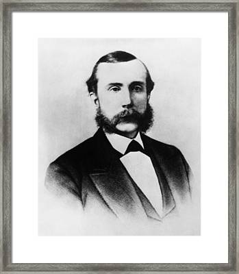 Rockefeller Family. Industrialist John Framed Print by Everett