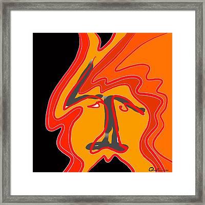 Rocker 3 Framed Print