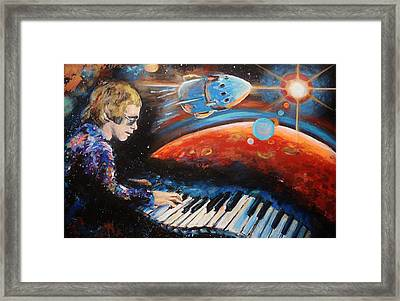 Rocket Man Framed Print