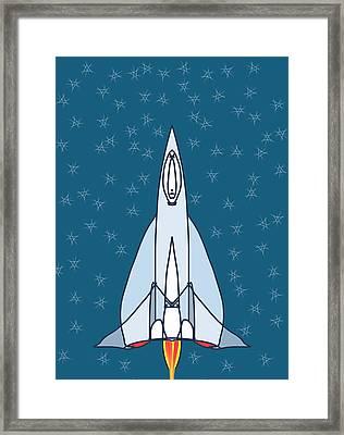 Rocket Ride Framed Print by Denny Casto