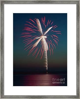 Rocket's Red Glare Framed Print