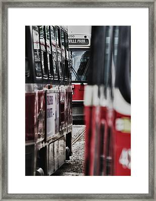 ...rockets... Framed Print by Russell Styles