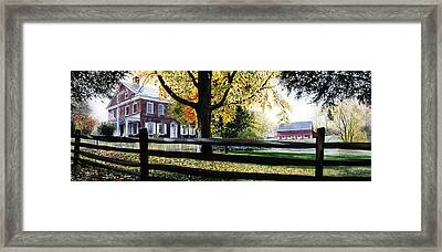 Rockford In Autumn Framed Print