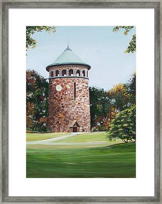 Rockford Tower Framed Print