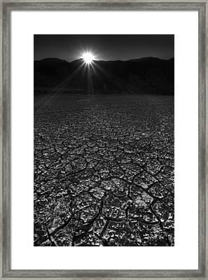 Rockhouse Canyon Sunset Framed Print