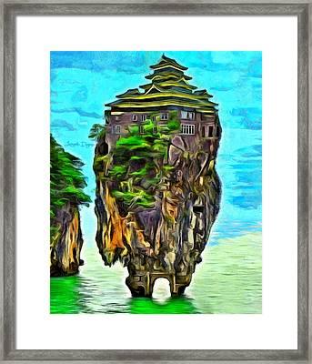 Rockhouse Island - Da Framed Print