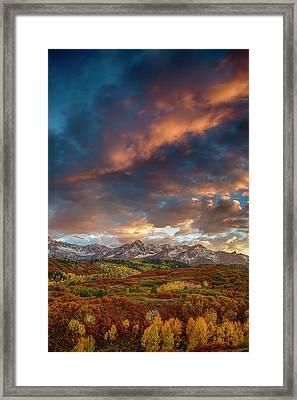 Rockies Autumn Framed Print