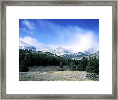 Rockies Framed Print