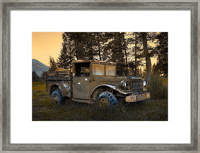 Rockies Transport Framed Print