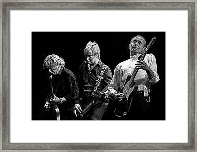 Rockin' All Over The World Framed Print by Brian Tarr