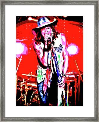 Rockin' Steven Framed Print by Nathaniel Price