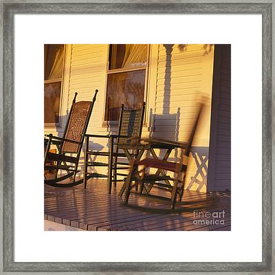 Rocking Chair Framed Print by George Robinson