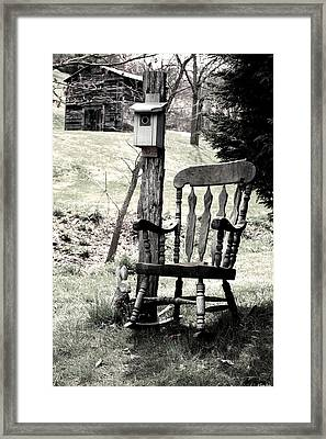 Rocking Chair Framed Print