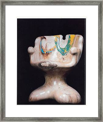 Rocking Chair Framed Print by Lionel Larkin