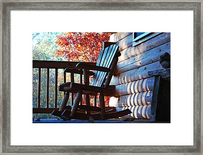 Rocking Framed Print by Robert Meanor