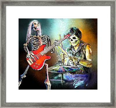 Rocking The Free Spirits Framed Print by Miki De Goodaboom
