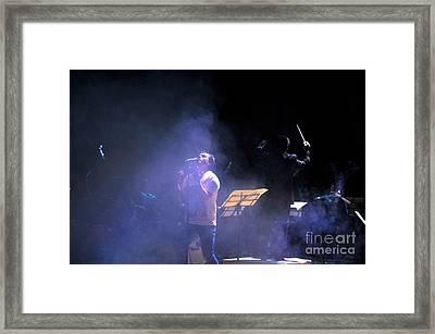 Rocking The Symphony IIi Framed Print by Al Bourassa