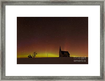 Rocklyn Aurora Framed Print by Beve Brown-Clark Photography