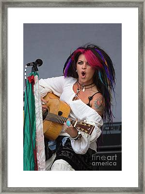 Rock_music_d296 Framed Print by Craig Lovell