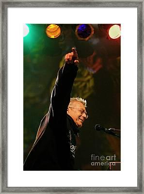 Rock_music_d412 Framed Print by Craig Lovell