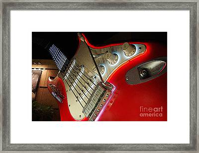 Rocknroller Coaster With Aerosmith Guitar Hollywood Studios Walt Disney World Prints Poster Edges Framed Print