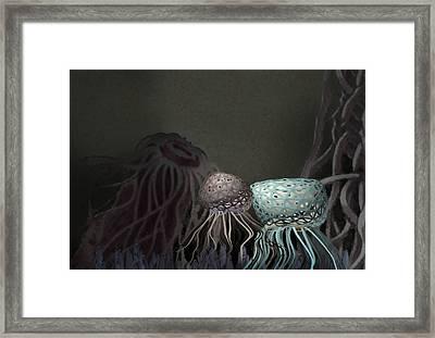 Rockpool Fantasy  Framed Print by Elizabetha Fox