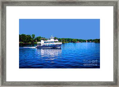 Rockport Boat Line Saint Lawrence Seaway Framed Print