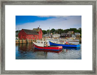 Rockport Harbor 2 Framed Print