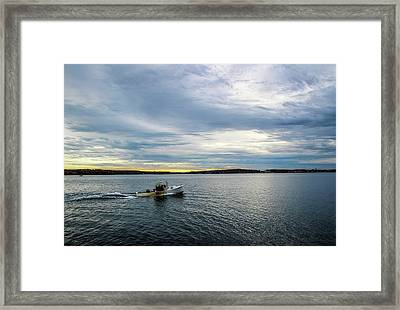 Rockport Harbor Framed Print by Terry Davis