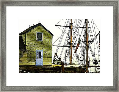 Rockport Harbor Framed Print