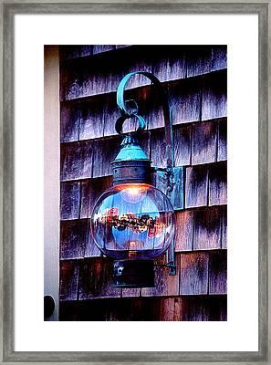 Rockport Light Framed Print by Greg Fortier