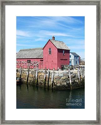 Rockport Ma Framed Print