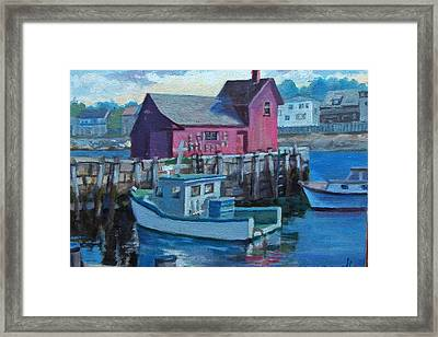 Rockport  Framed Print by Michael McDougall