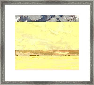 Rockport Turbulent Stratocumulus Framed Print