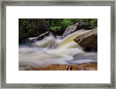 Rocks And Rapids Framed Print by James BO Insogna