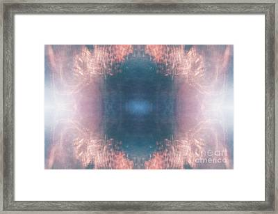 Framed Print featuring the photograph Hope Rays Of Light by Patricia Youngquist