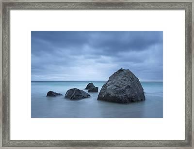 Rocks Framed Print by Timm Chapman