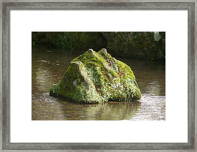 Rockscape Framed Print by Catja Pafort